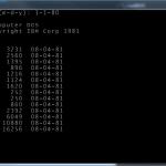 x8086NetEmu Boots PC DOS 1.0